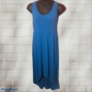 Mossimo Blue High Low Dress Size XL